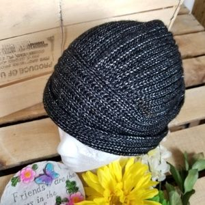 ecote'  Urban Outfitters  Black/ Silver Hat 308